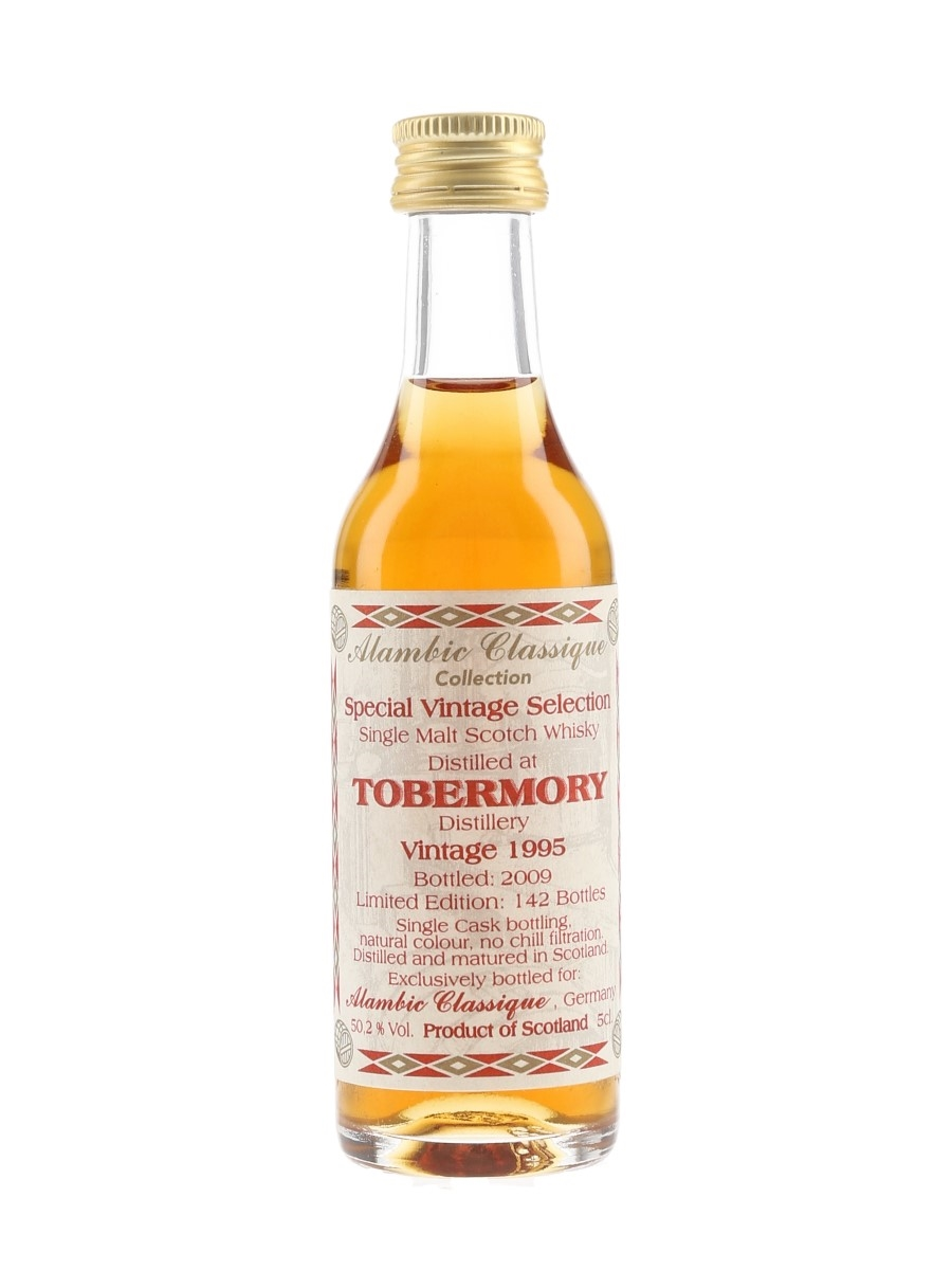 Tobermory 1995 Bottled 2009 - Alambic Classique Collection 5cl / 50.2%