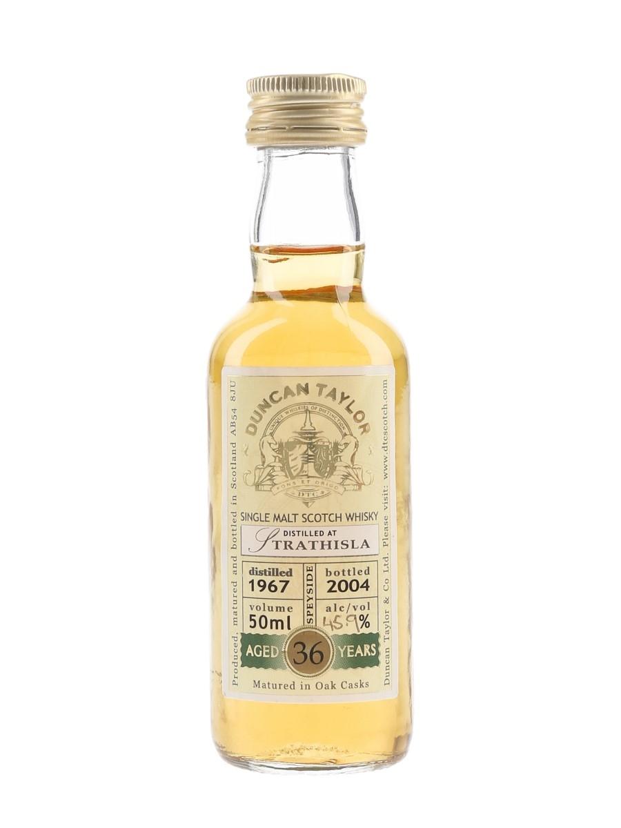 Strathisla 1967 36 Year Old Bottled 2004 - Duncan Taylor 5cl / 45.9%