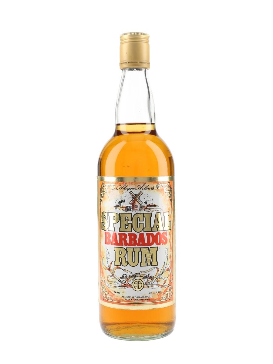 Alleyne Arthur's Special Barbados Rum Bottled 1980s 75cl / 43%