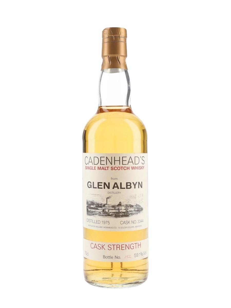 Glen Albyn 1975 Cask Strength Cadenhead's White Label 70cl / 59.1%