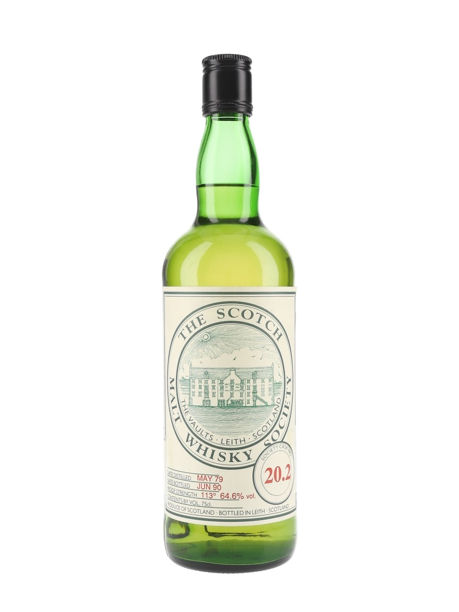 SMWS 20.2 Inverleven 1979 75cl / 64.6%