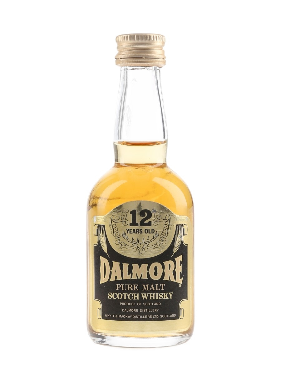 Dalmore 12 Year Old Bottled 1980s 5cl / 40%