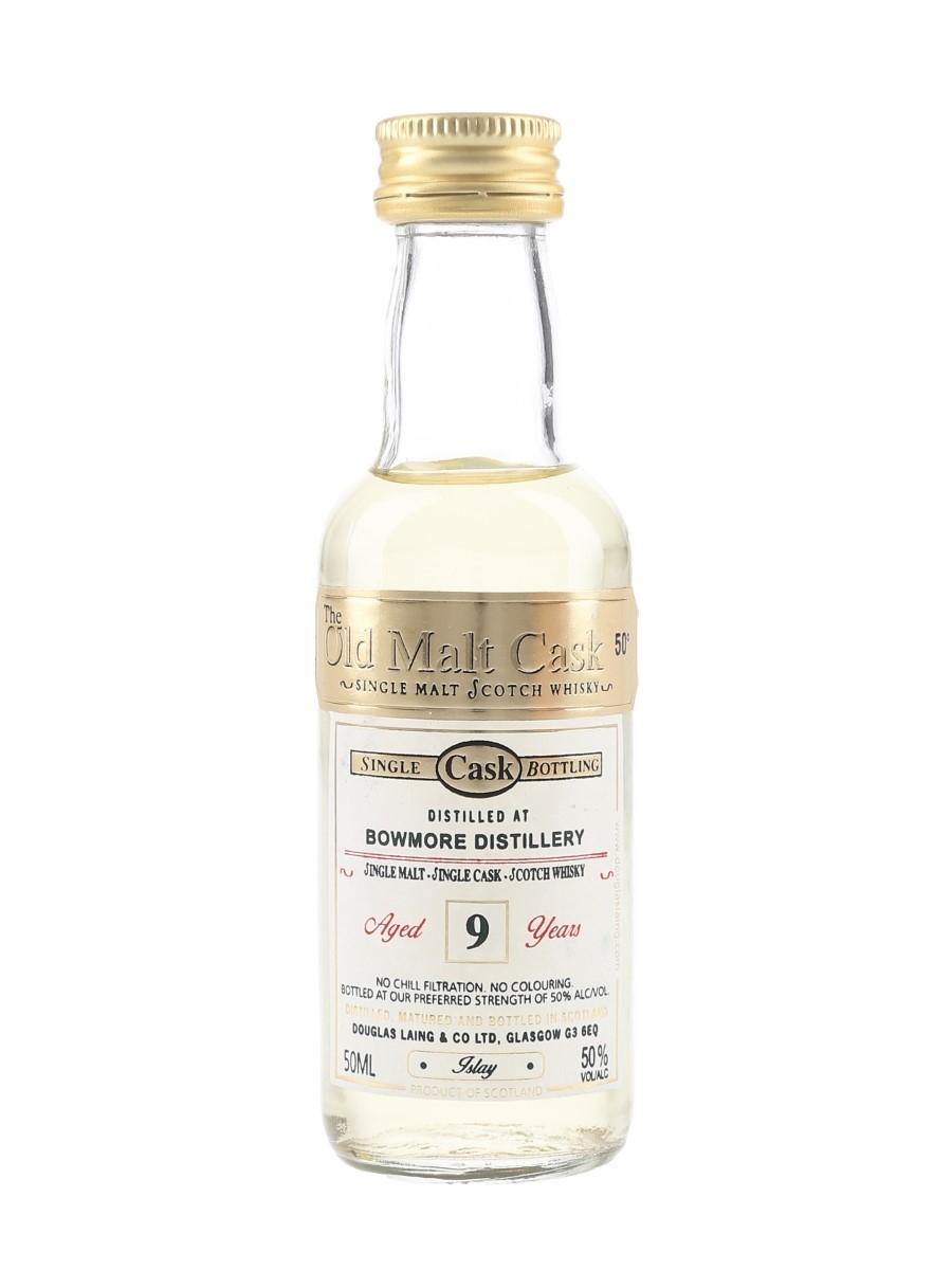 Bowmore 9 Year Old The Old Malt Cask Bottled 2000s - Douglas Laing 5cl / 50%