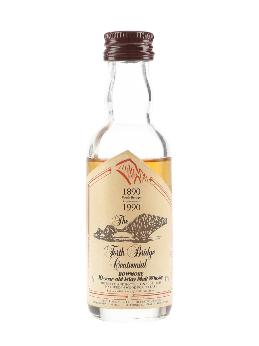 Bowmore 10 Year Old Forth Bridge Centennial 1990 5cl / 40%