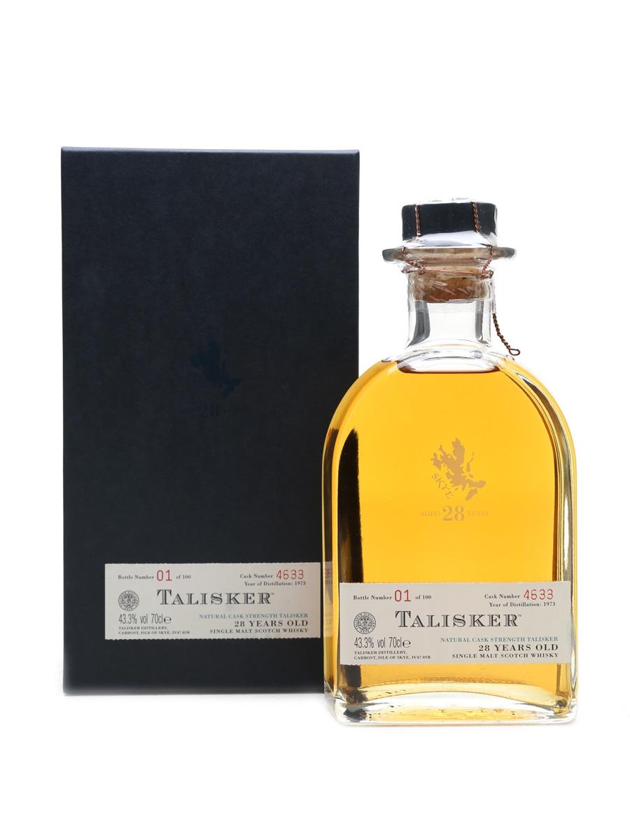 Talisker 1973 Bottle No.1 28 Years Old - 100 Bottles Oddbins 70cl