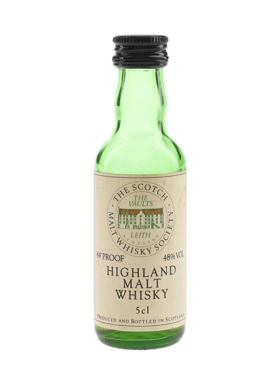 SMWS Highland Malt  5cl / 48%