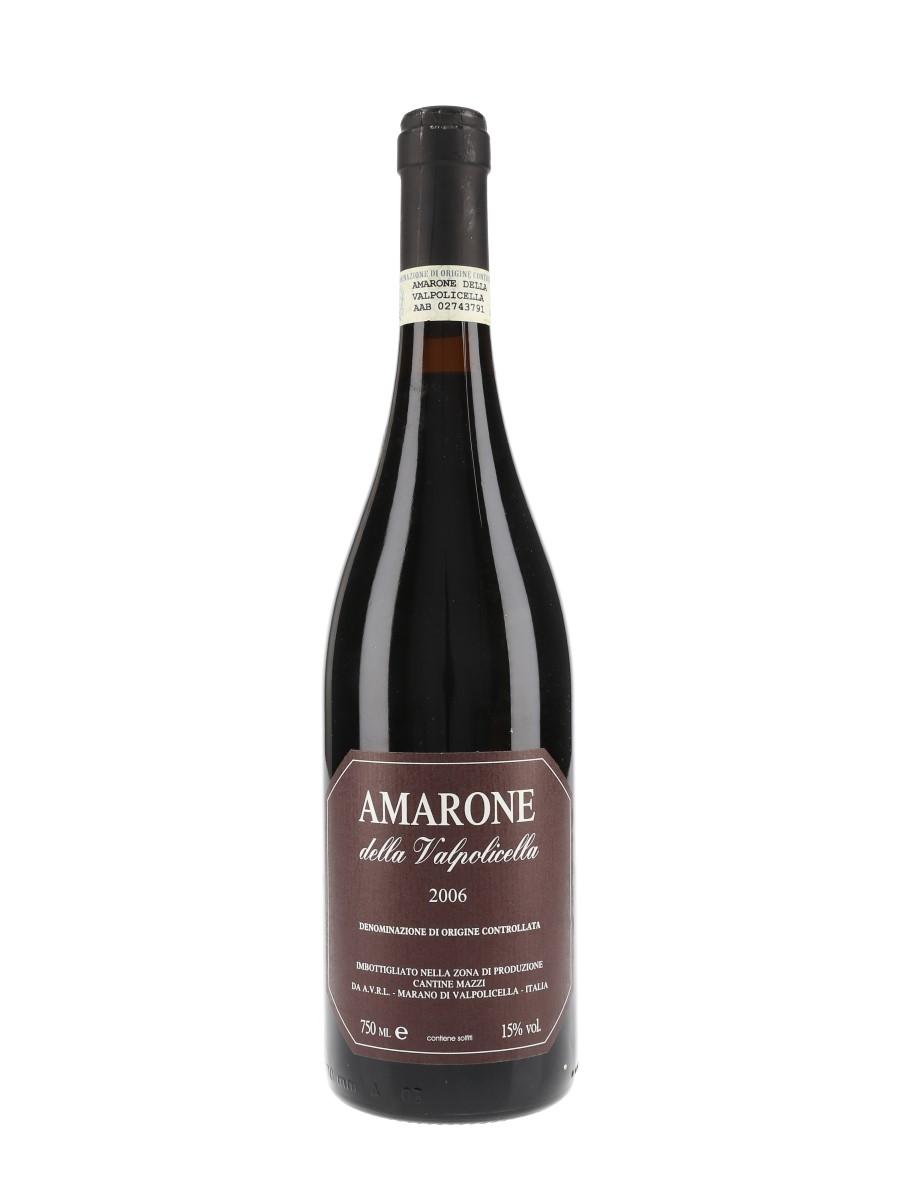 Amarone Della Valpolicella 2006 Cantine Mazzi 75cl / 15%