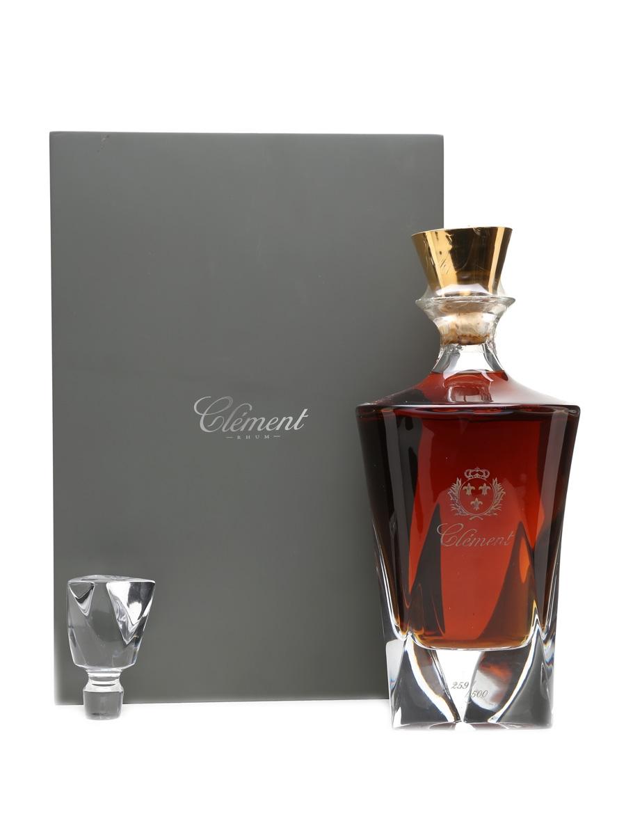 Clément Carafe Cristal Decanter Agricole Rhum 70cl / 44%