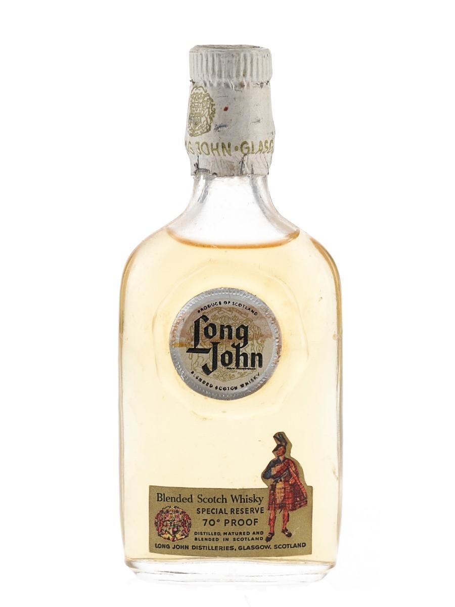 Long John Bottled 1950s-1960s 5cl / 40%