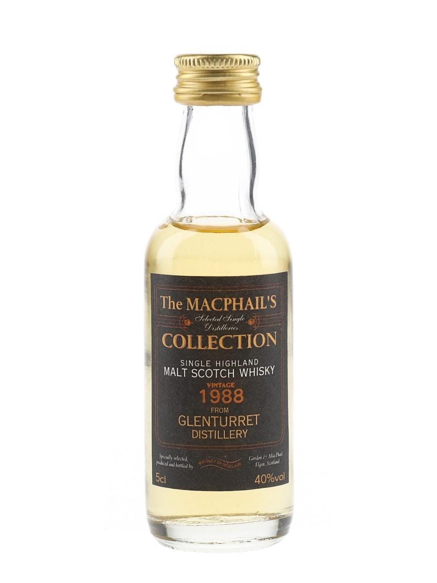 Glenturret 1988 Bottled 2000s - The MacPhail's Collection 5cl / 40%