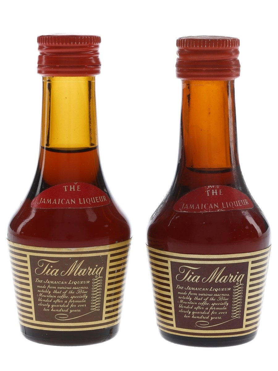 Tia Maria Bottled 1970s 2 x 4.5cl / 31.5%