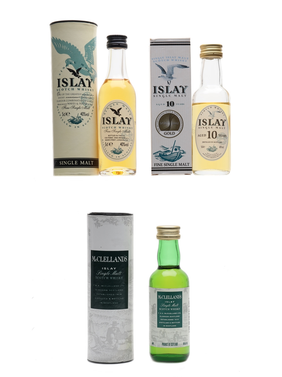 Islay & McLelland's  3 x 5cl / 40%