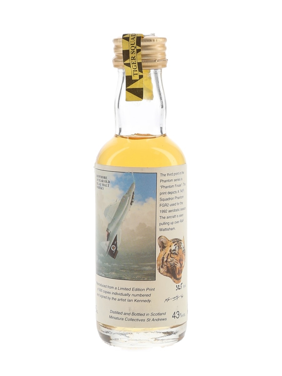 Bowmore 10 Year Old RAF Collection Miniatura Collectives - Phantom Finale 5cl / 43%