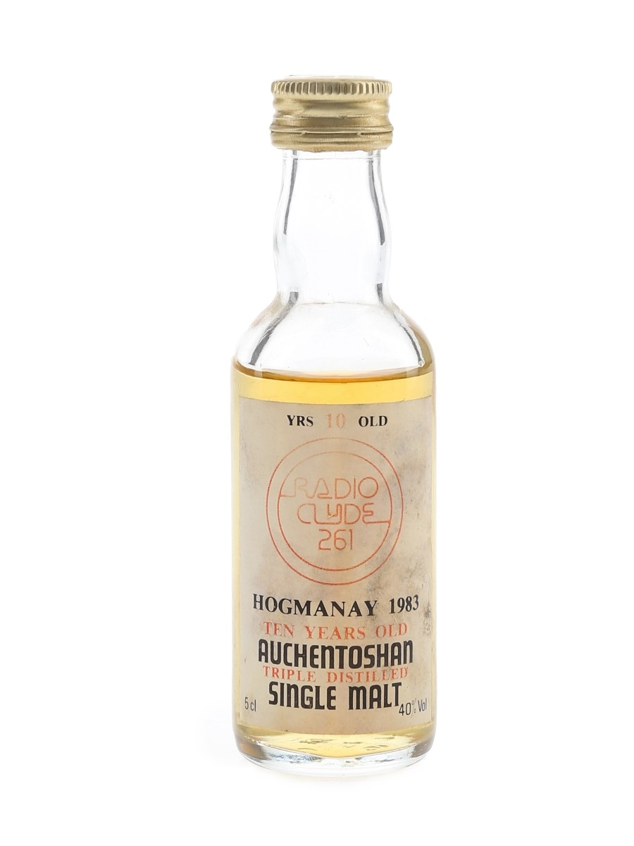 Auchentoshan 10 Year Old Radio Clyde 261 Hogmanay 1983 5cl / 40%