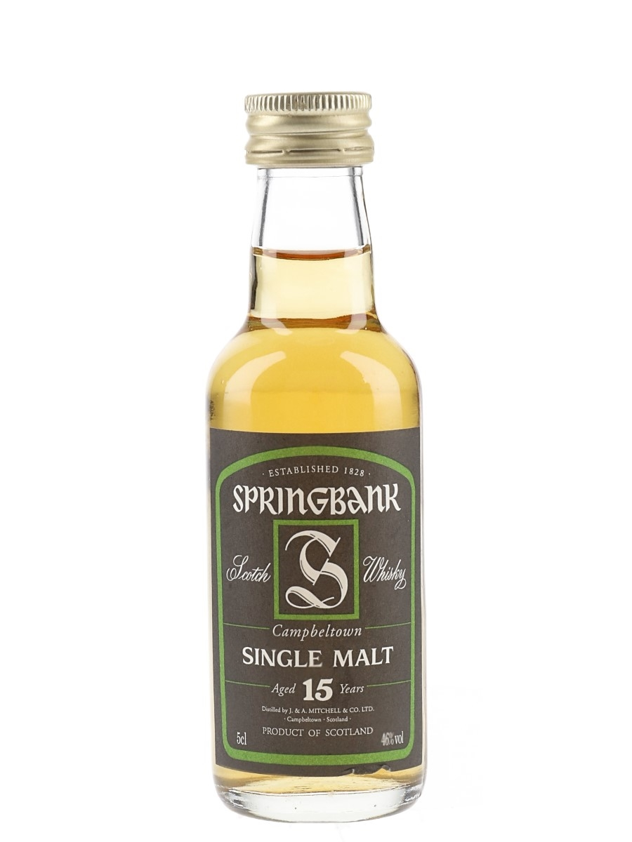 Springbank 15 Year Old  5cl / 46%