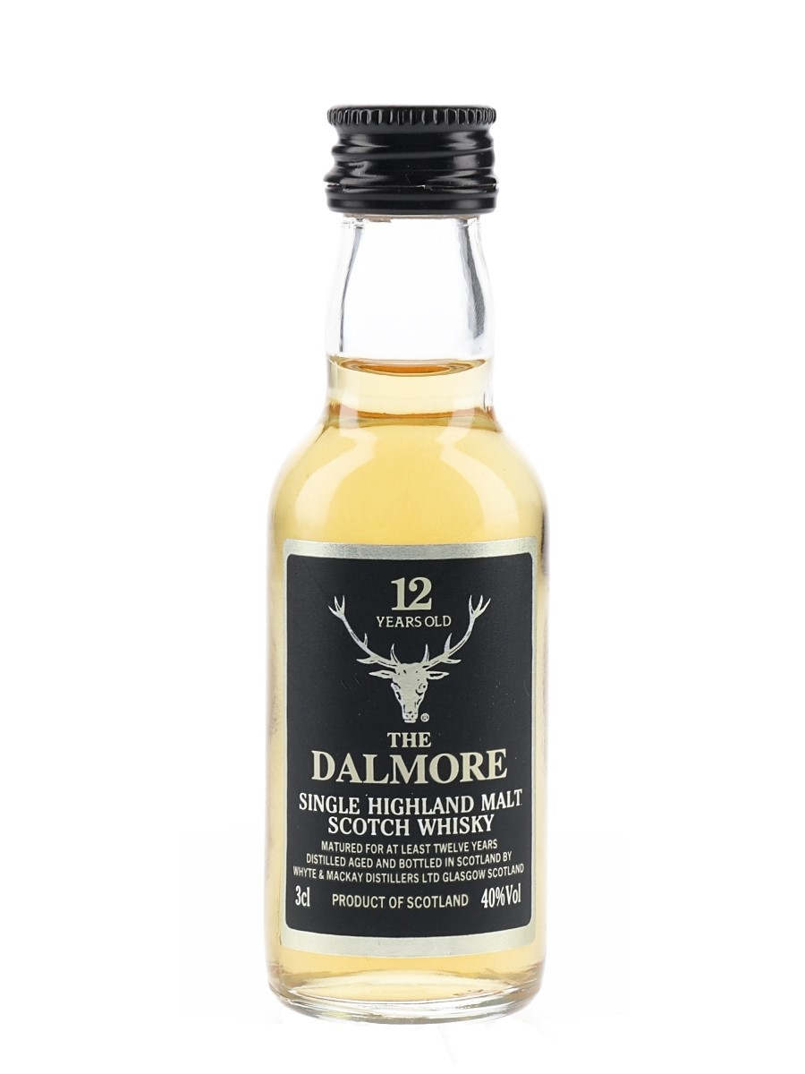 Dalmore 12 Year Old Bottled 1990s 3cl / 40%