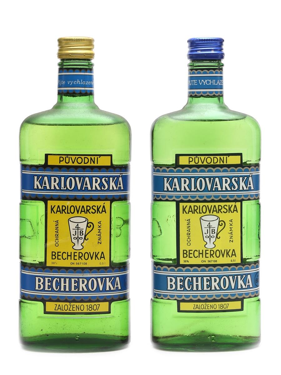 Becherovka Karlovarska  2 x 50cl