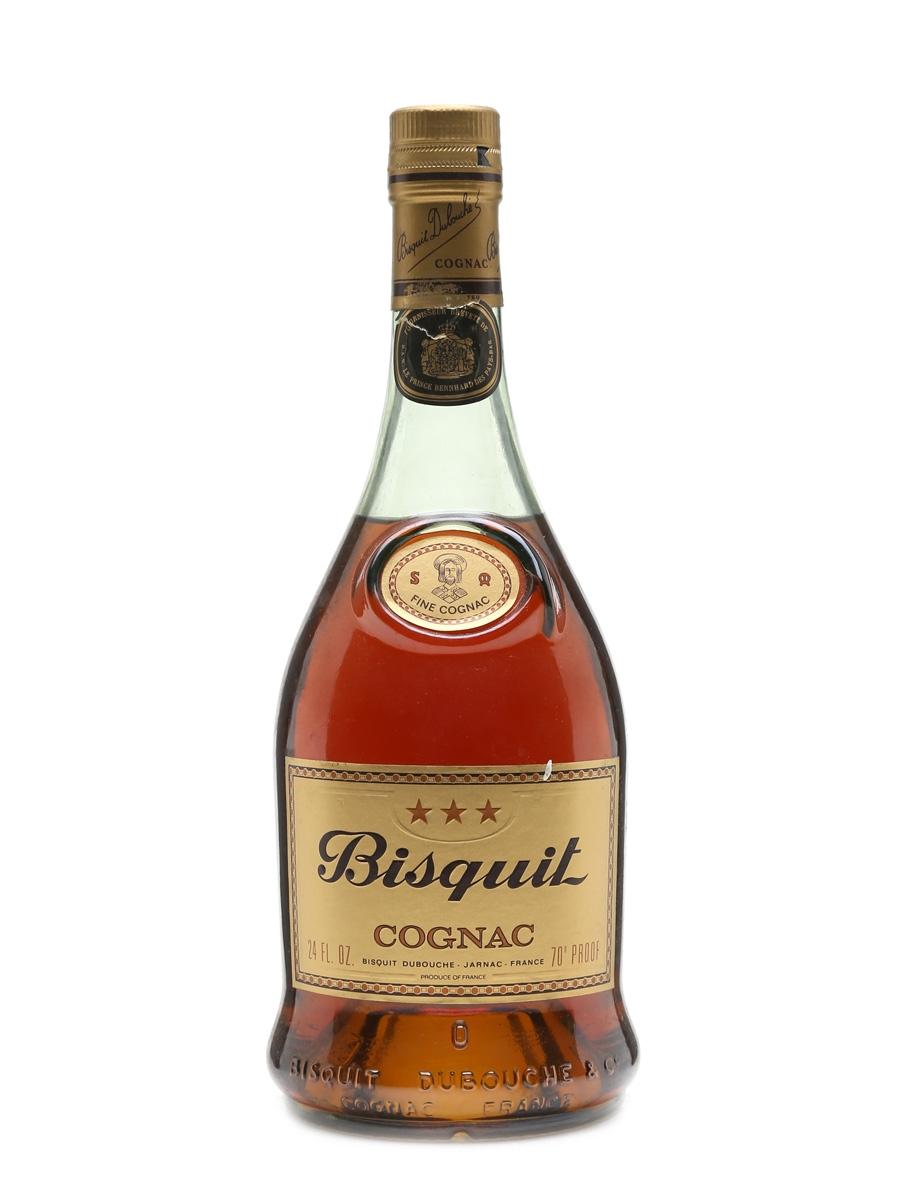 Bisquit 3 Star Cognac Bottled 1970s 68cl / 40%