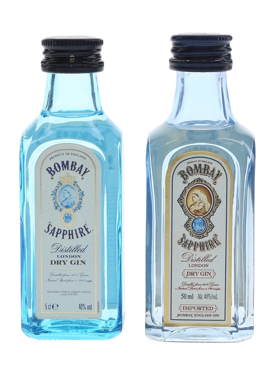 Bombay Sapphire  2 x 5cl / 40%