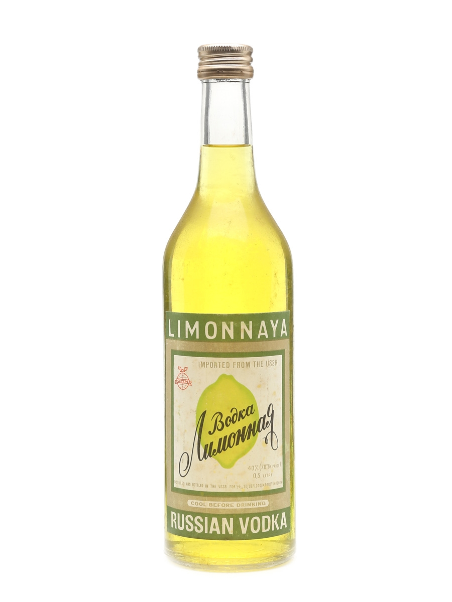 Limonnaya Vodka Bottled 1980s 50cl