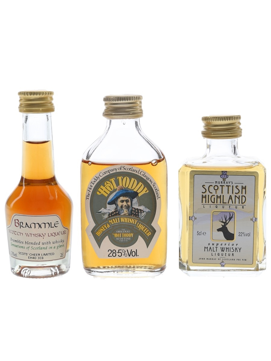 Brammle, Hot Toddy & Murray's Scottish Highland  3 x 2cl-5cl