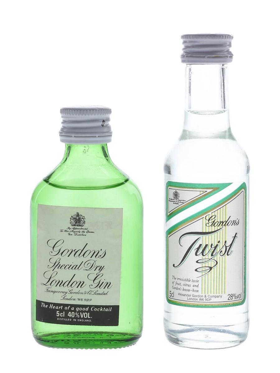 Gordon's Gin & Twist  2 x 5cl