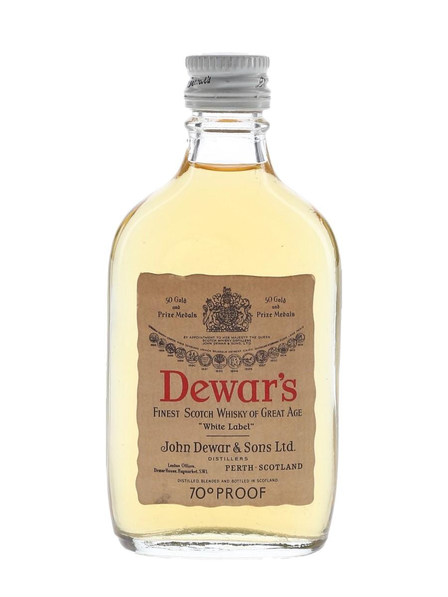 Dewar's White Label Bottled 1970s 5cl / 40%