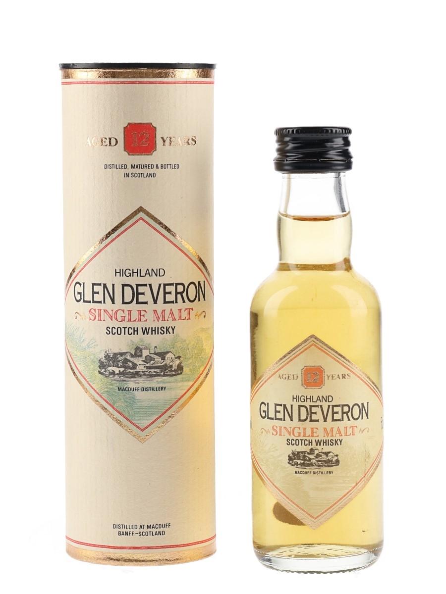 Glen Deveron 12 Year Old  5cl / 40%