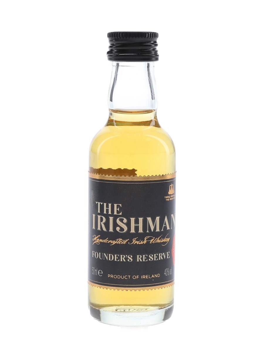 The Irishman Founder's Reserve  5cl / 40%