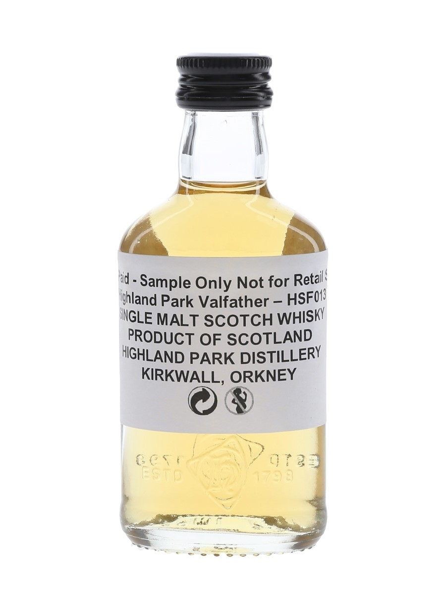 Highland Park Valfather Trade Sample 5cl / 47%