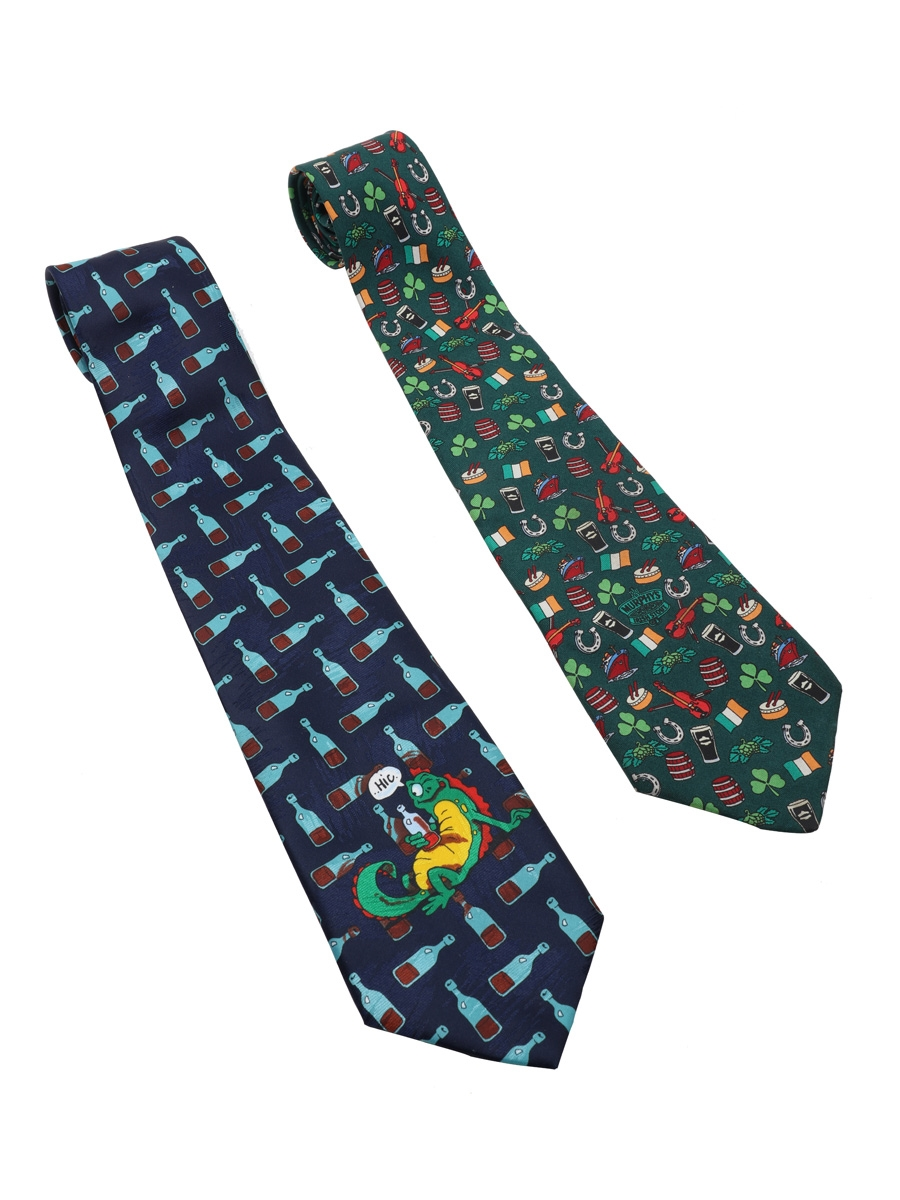 Murphy's Irish Stout & Novelty Newt Neckties