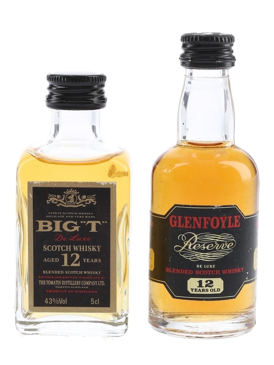 Glenfoyle Reserve & Big T 12 Year Old  4cl & 5cl / 43%