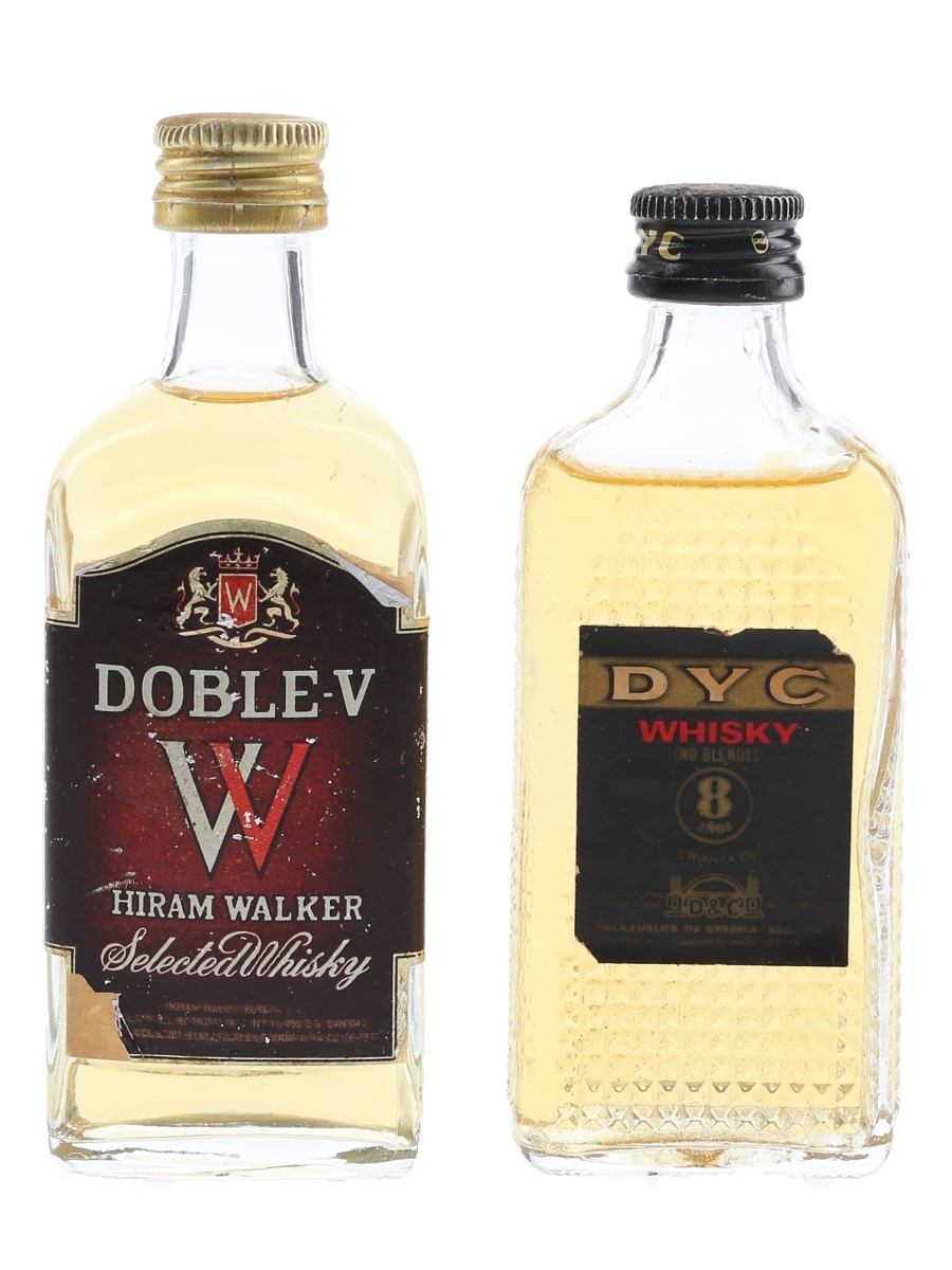 Doble-V & DYC 8 Year Old Spain 2 x 5cl