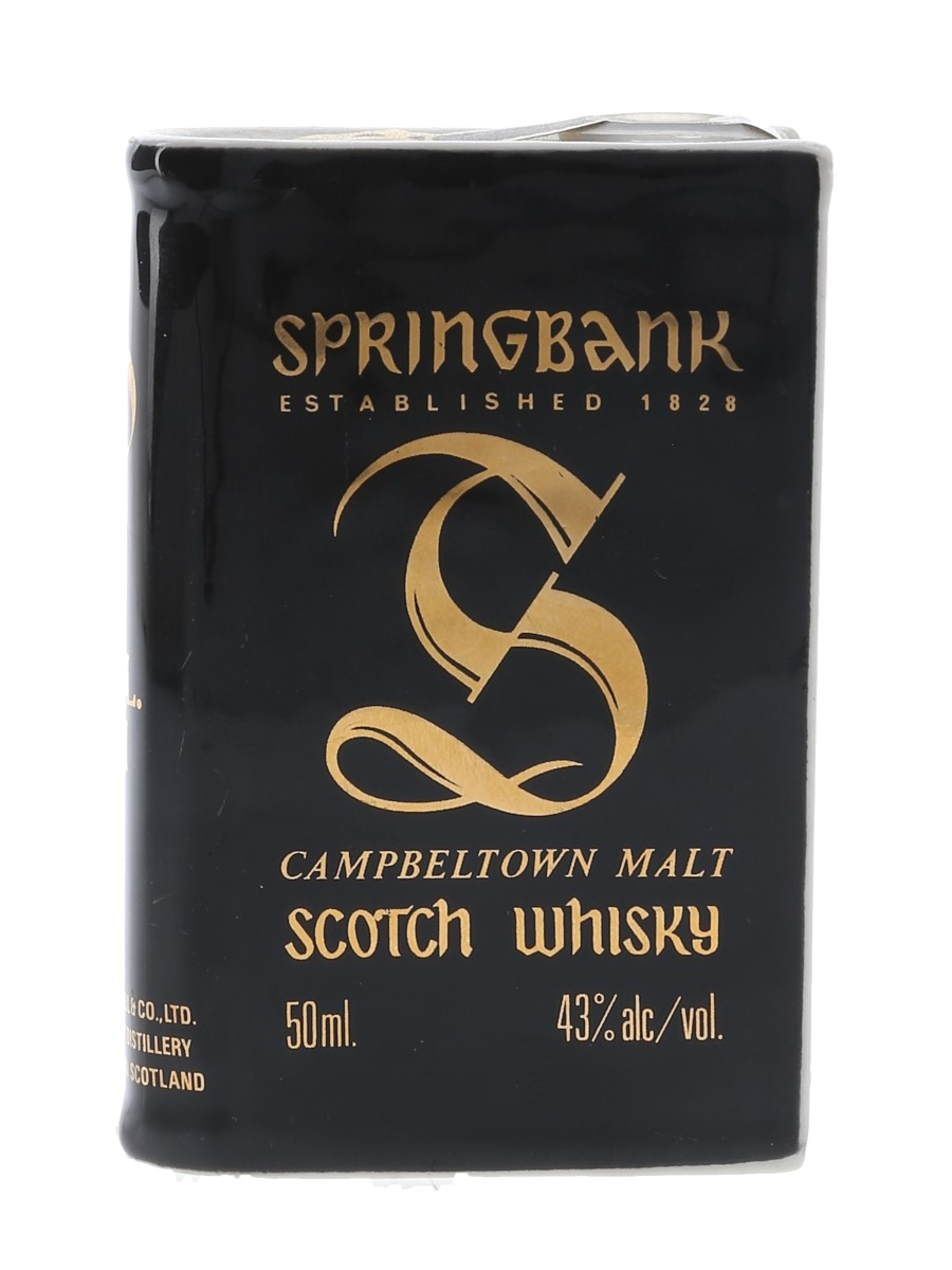 Springbank Volume III Bottled 1980s - Ceramic Book 5cl / 43%