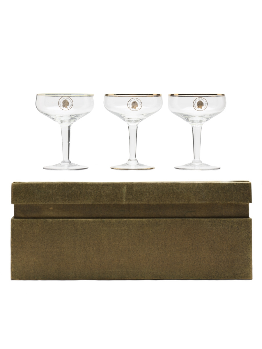 Golden Guinea 1911-1961 Georgius III Champagne Coupes