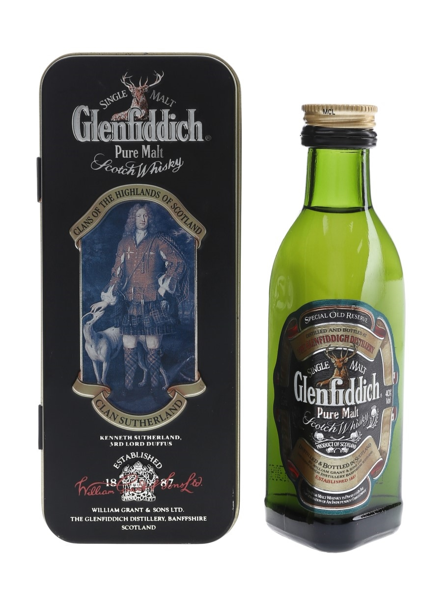 Glenfiddich Special Old Reserve Clans Of The Highlands Of Scotland 5cl / 40%