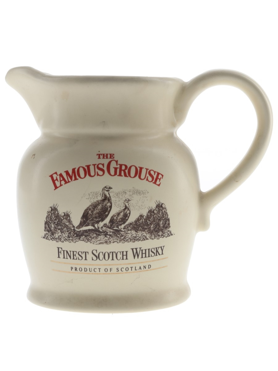 Famous Grouse Ceramic Water Jug  14.5cm Tall