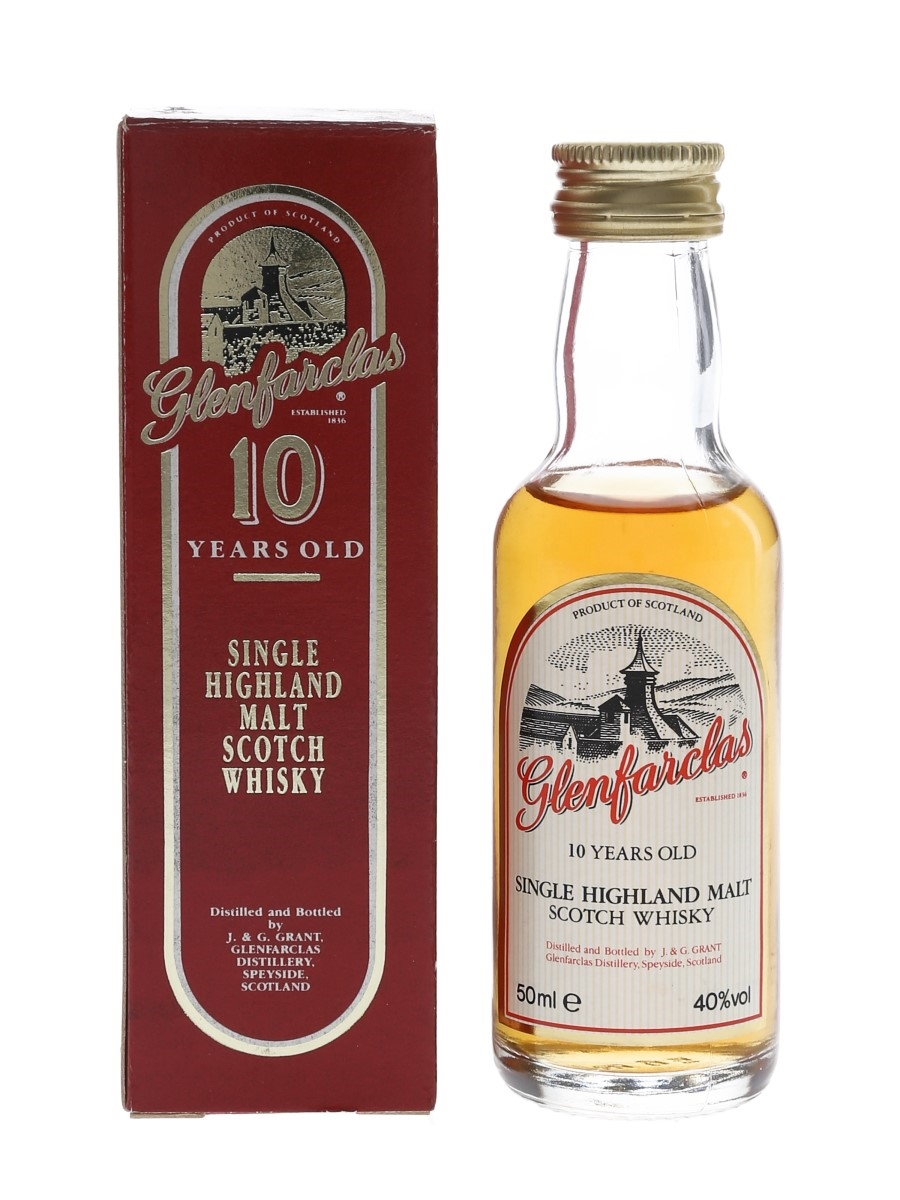 Glenfarclas 10 Year Old Bottled 1990s 5cl / 40%