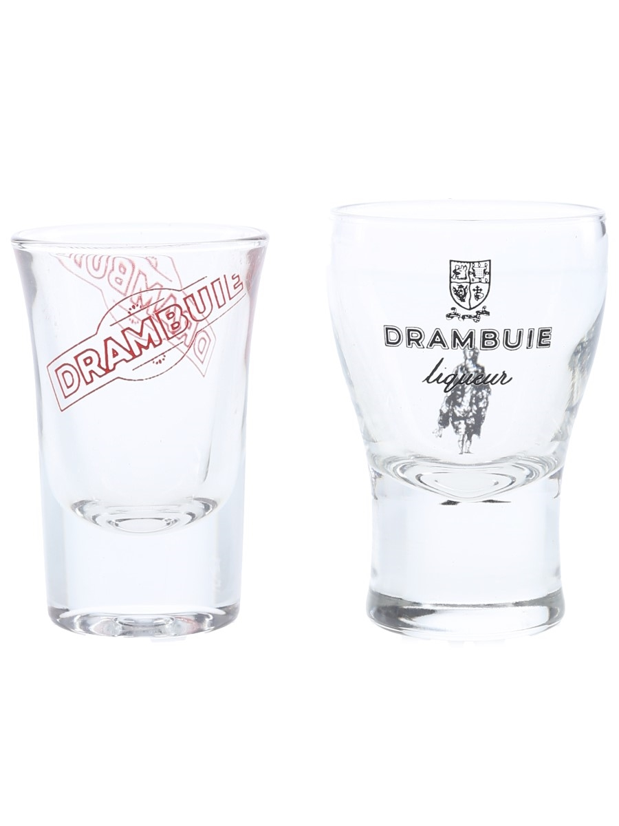 Drambuie Shot Glasses  7cm Tall