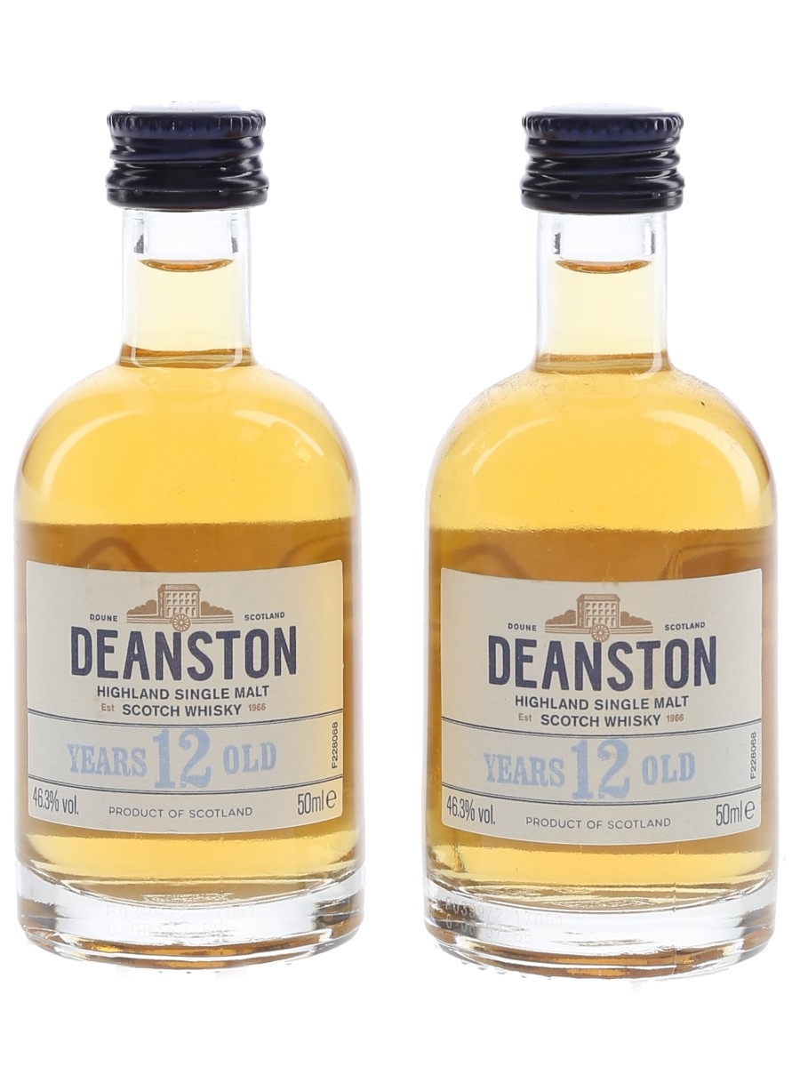 Deanston 12 Year Old  2 x 5cl / 46.3%