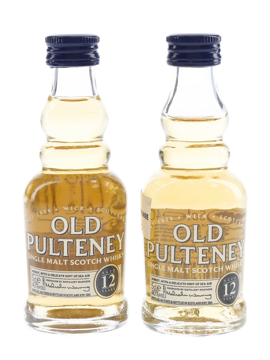 Old Pulteney 12 Year Old  2 x 5cl / 40%