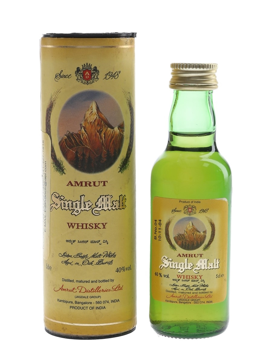 Amrut Single Malt Bottled 2004 5cl / 40%