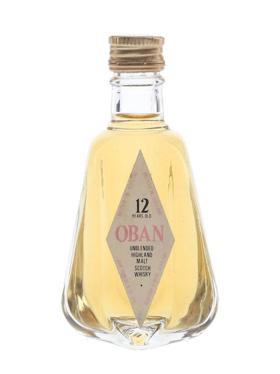 Oban 12 Year Old Bottled 1980s 5cl