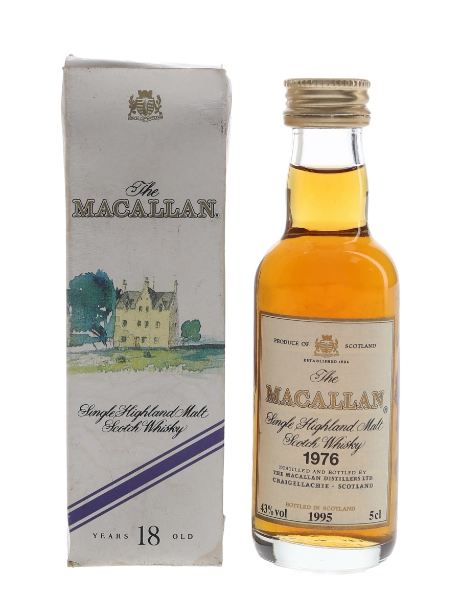 Macallan 1976 Bottled 1995 5cl / 43%