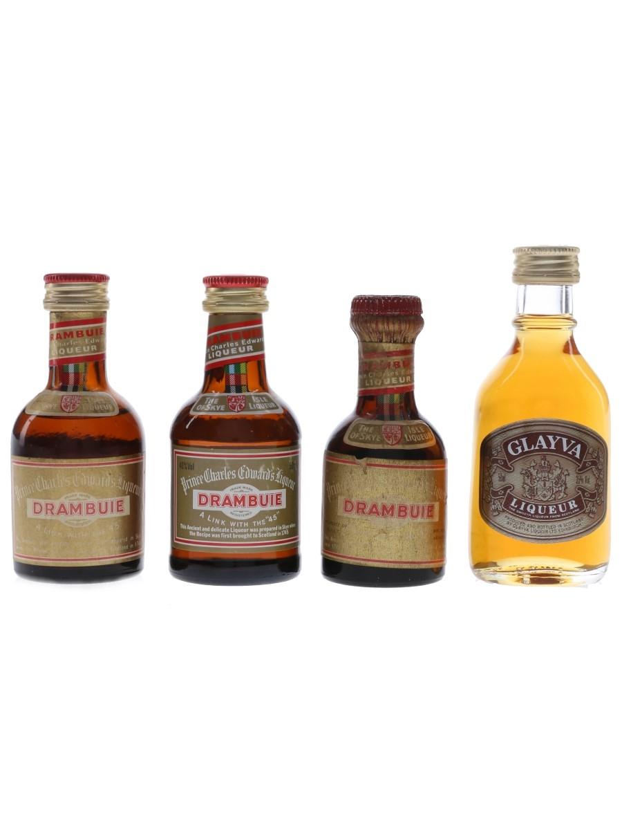 Drambuie & Glayva  4 x 5cl / 40%