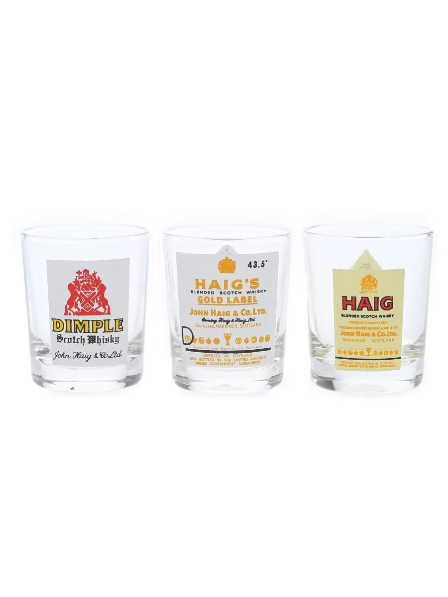 Haig Shot Glasses
