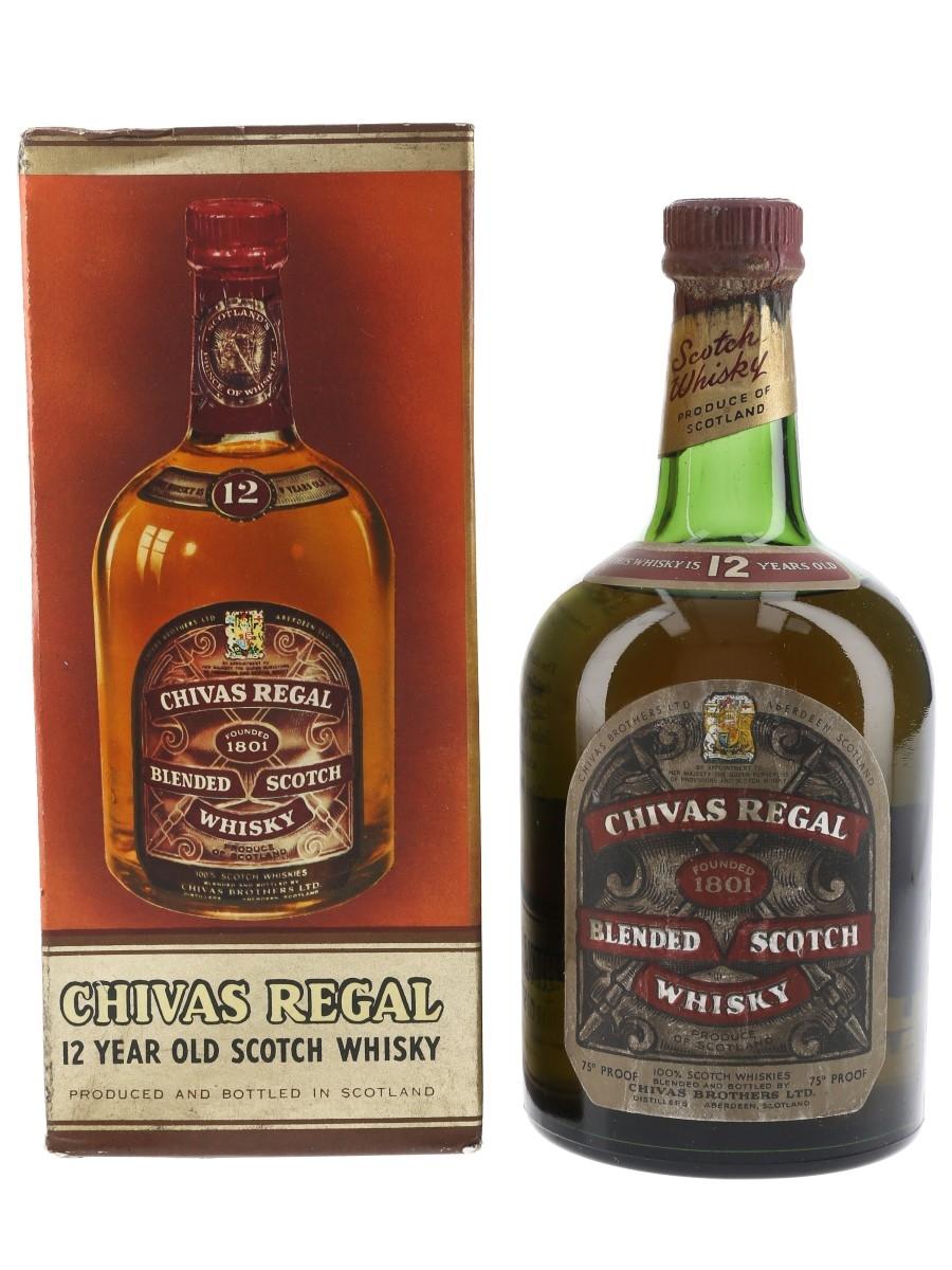 Chivas Regal 12 Year Old Bottled 1950s 75cl / 43%