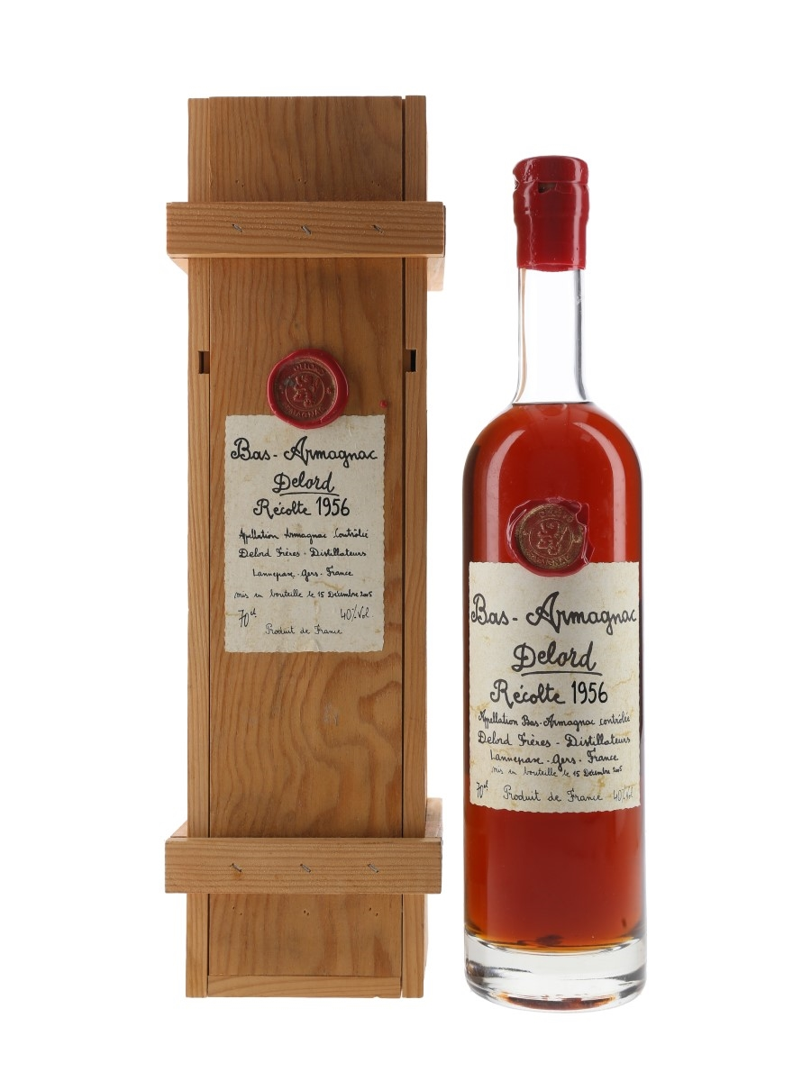 Delord 1956 Bas Armagnac Bottled 2005 70cl / 40%