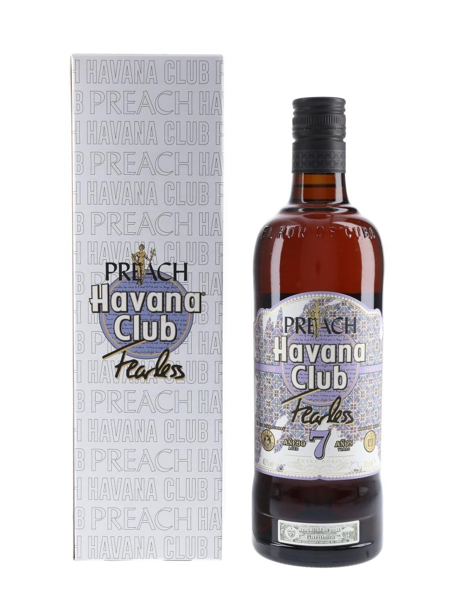 Havana Club 7 Year Old Fearless x Preach  70cl / 40%