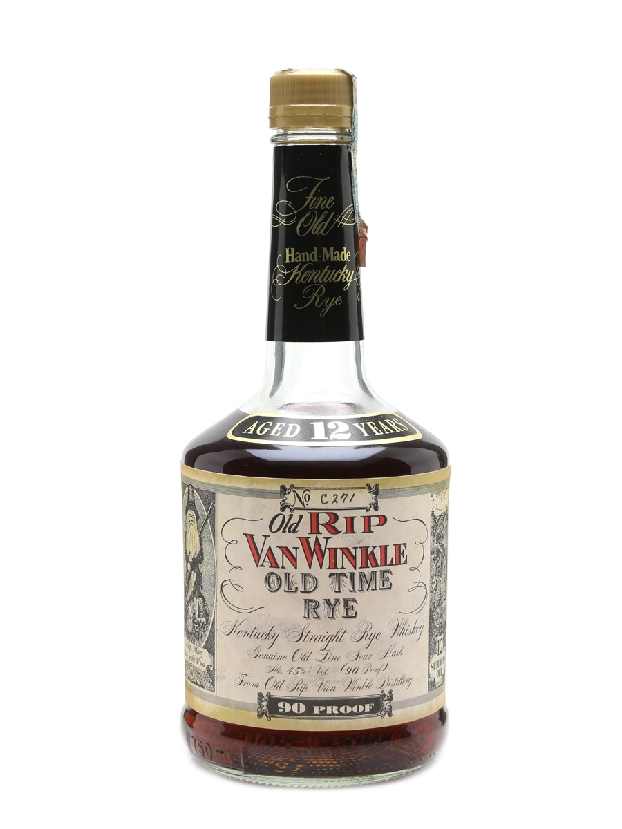 Old Rip Van Winkle Old Time Rye 12 Years Old 70cl / 45%